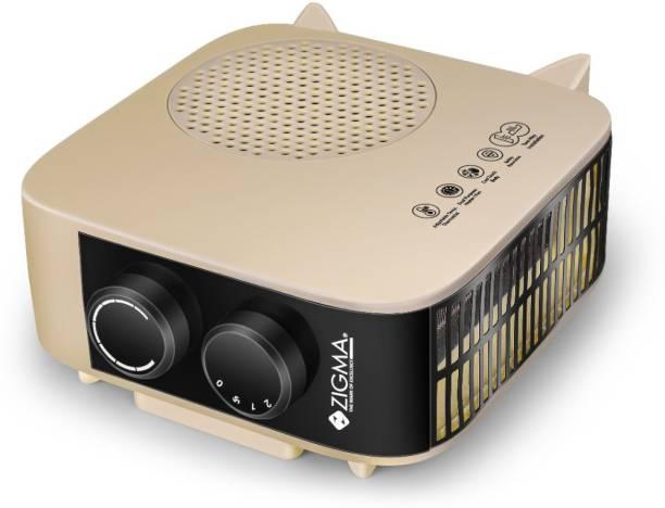 zigma Z-39 Instant Comfort 2000W (ISI certified) Fan Room Heater