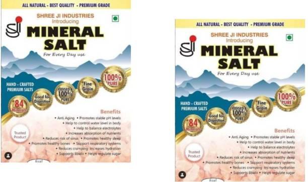 Shreeji Mineral Himalayan Pink Salt for Daily Use, 250g (pack of 2) Himalayan Pink Salt