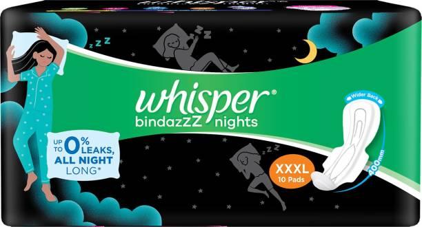 Whisper Bindazzz Nights XXXL Sanitary Pad