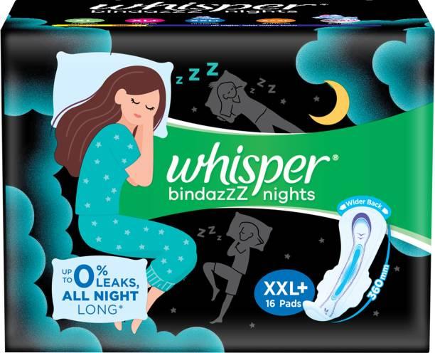 Whisper Bindazzz Nights XXL+ Sanitary Pad