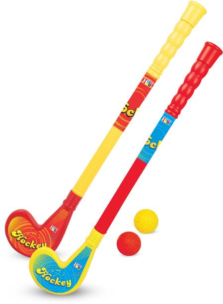 Miss & Chief Hockey Set with 2 Stick and Ball for Kids Hockey Kit