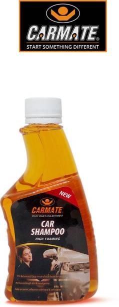 CARMATE High Foaming PH Balanced Easy Rinse Of Rich Foam Formula Car Washing Shampoo - Car Washing Liquid