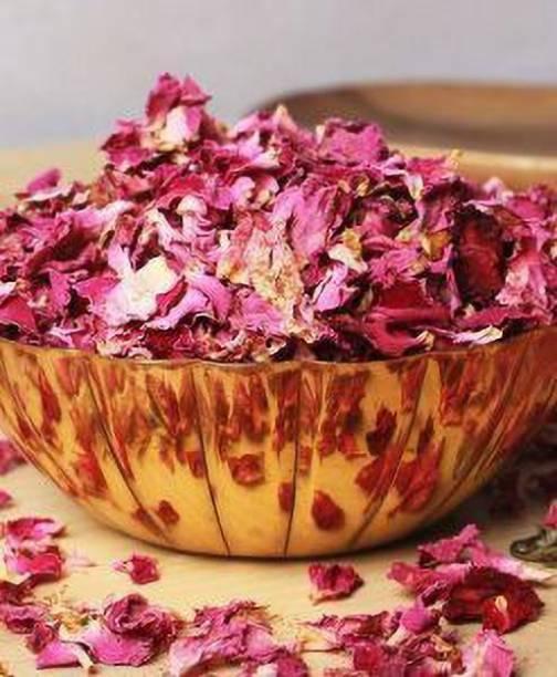 kotaliya Premium Sun Dried Rose Petals (Gulab Patti) (100gm) Topping