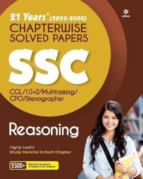 Ssc Chapterwise Solved Papers Reasoning 2021
