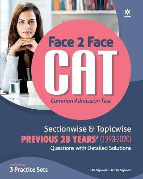 Face to Face Cat 27 Years Sectionwise & Topicwise Solved Paper 2021