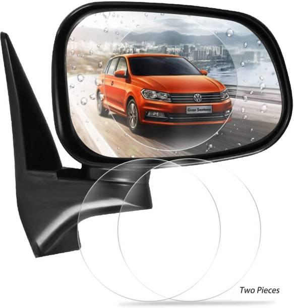 K K COIN Anti Fog Film Car Rear View Mirror Rain Proof, Car Accessories Waterproof Anti Fog Film Rainproof, Anti-Mist Film Protector Safety Driving Guard Car Mirror Rain Blocker