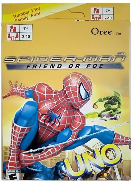 shyam Spider Man Card Games Fast Fun FAMILY CARD GAME COMPLETE PACK OF 108 CARD