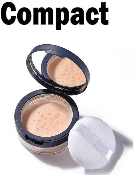 EVERERIN MATTE FINISH COMPACT LOOSE POWDER FOR ALL SKIN TYPES Compact (BEIGE, 20 g) Compact
