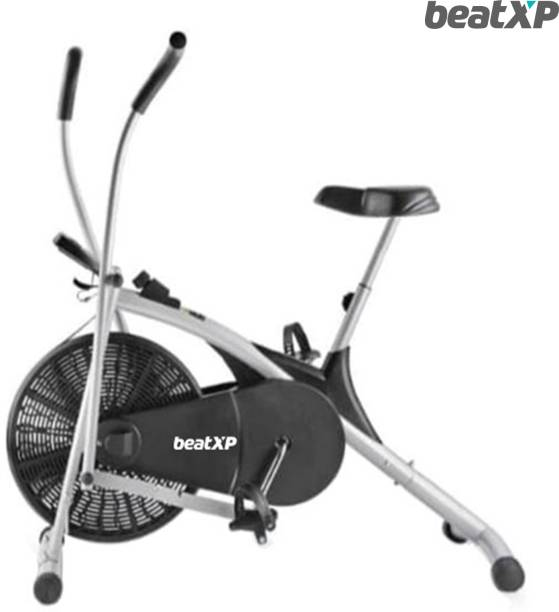 Pristyn care AB-100BS Air Exercise Bike Uptight With BackSupport Seat &Movinghandle Dual-Action Upright Stationary Exercise Bike