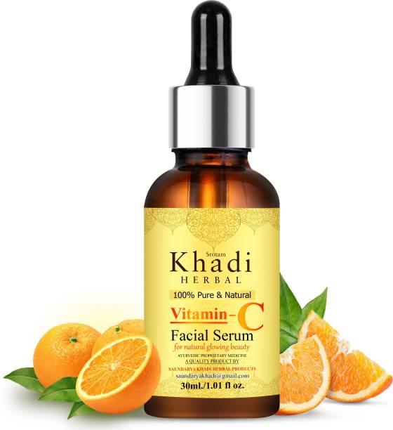 Srotam Khadi Herbal Vitamin C Face Serum