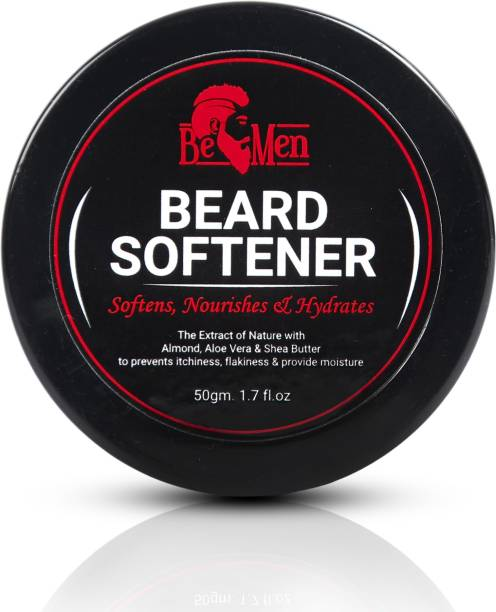 BEMEN Beard Softener For Men   Nourishes Softens and Hydrates Beards with the goodness of Almond and Glycerin   Get Softer Beard Instantly Beard Cream