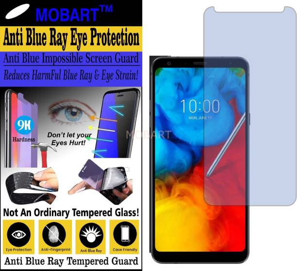 MOBART Impossible Screen Guard for LG Q STYLUS ALPHA (Impossible UV AntiBlue Light)