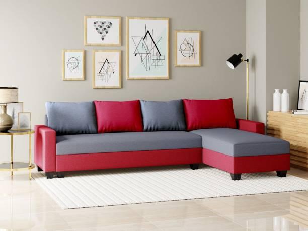 Flipkart Perfect Homes Porto Fabric 6 Seater  Sofa