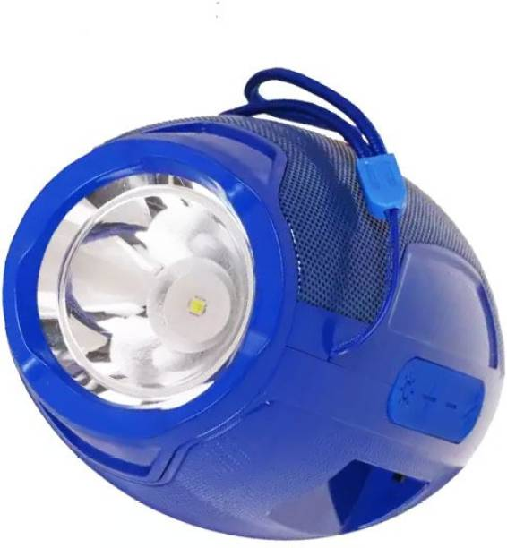 Megaloyalty flashlight Speakers and Torch Light Bluetooth Speaker with Data Cable with Super bass Bluetooth Speaker for All Smartphones Hanging Music Speaker perfect for outdoor activities speaker 10 W Bluetooth Speaker
