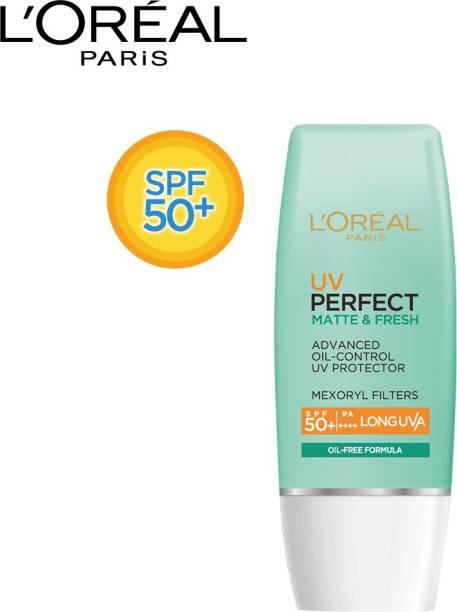 L'Oréal Paris UV Perfect Matte & Fresh Long UVA SPF 50+/PA++++ - SPF 50+ PA++++