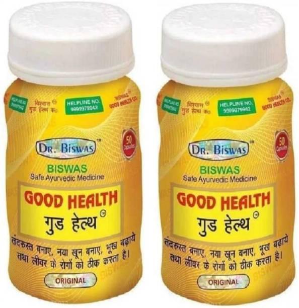 Dr. Biswas GOOD HEALTH_2 (Pack of 2)