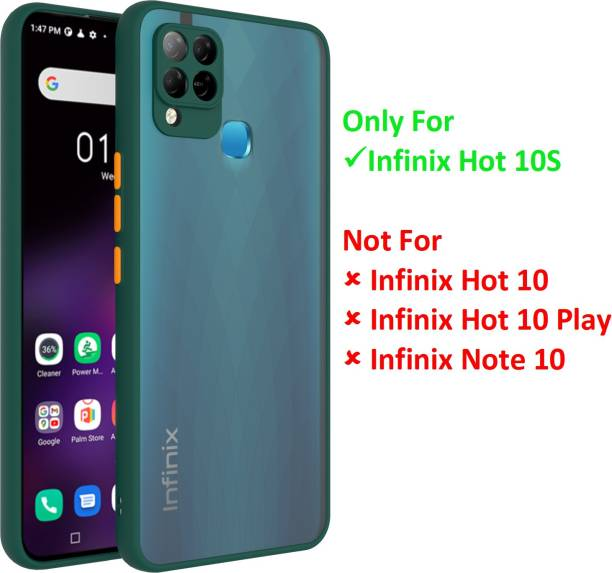 MECase Back Cover for Infinix Hot 10S