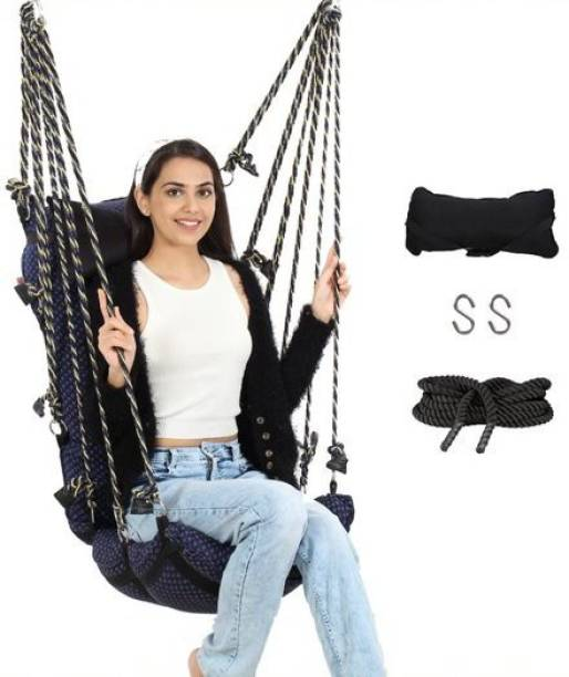 Smart Beans Swing for adults Jhoola for Home Cotton Large Swing