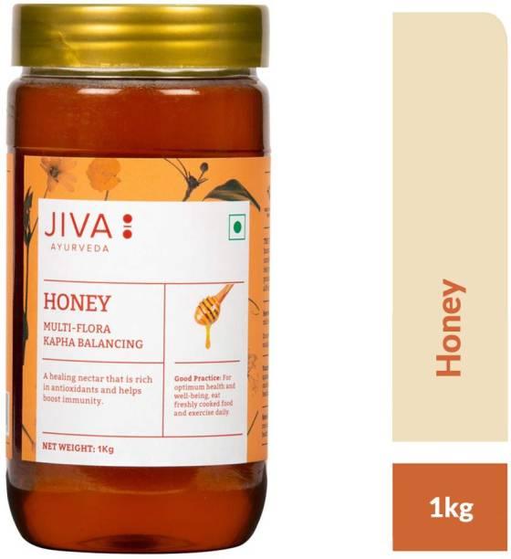 JIVA Honey - Rich In Antioxidants & Boosts Immunity - 1 kg - Pack of 1