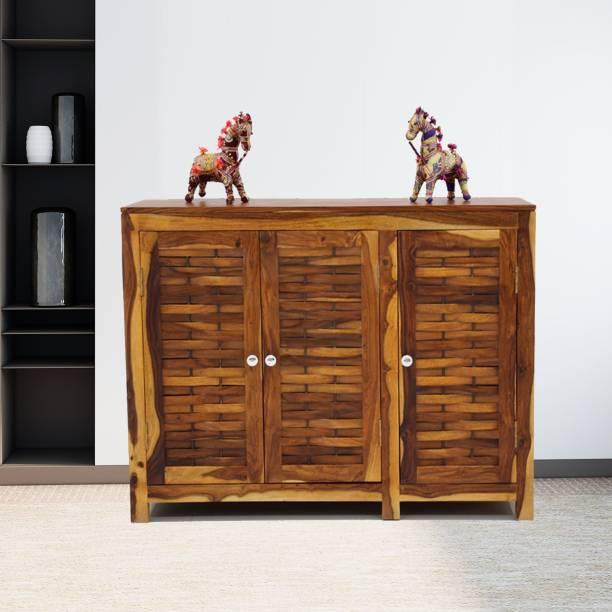 Flipkart Perfect Homes JOHN-SB-NT-PH Solid Wood Kitchen Cabinet
