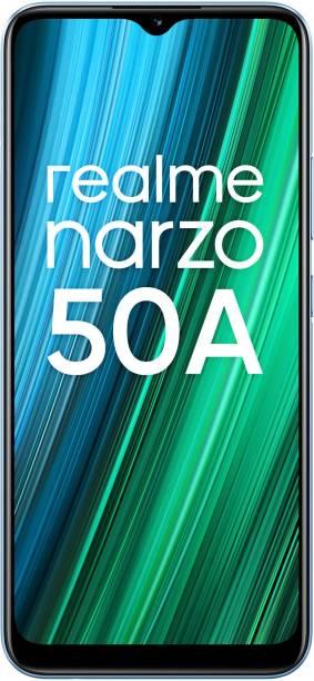 realme Narzo 50A (Oxygen Blue, 128 GB)