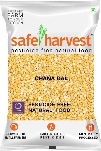 safe harvest Yellow Chana Dal (Split)