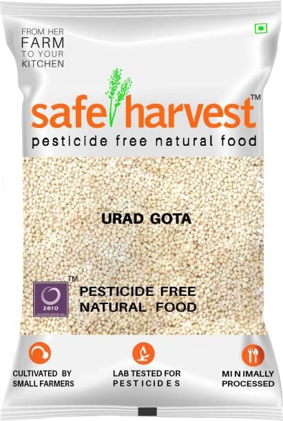 safe harvest White Urad Gota (Whole)