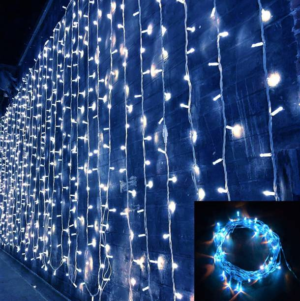 Home Delight 157 inch Blue Rice Lights
