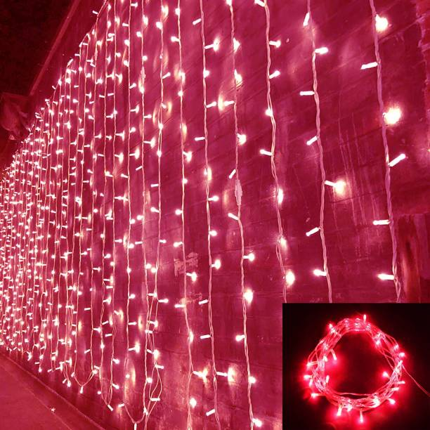 Home Delight 157 inch Pink Rice Lights
