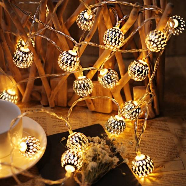 Home Delight 200 inch Yellow Rice Lights