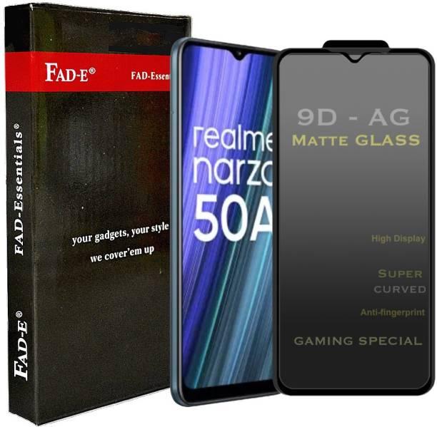 FAD-E Tempered Glass Guard for Realme Narzo 50A