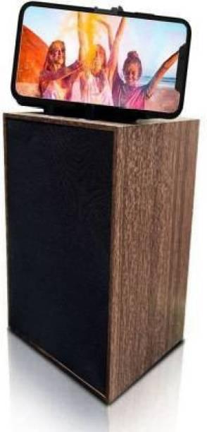 SNMC WOODEN SPEAKER 5 W Bluetooth PA Speaker