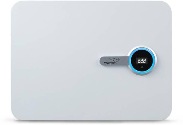 V-Guard iD4 Ace 5540 for 1.5 Ton Inverter A.C (Working Range: 140-280 V) With Color Changing Smart LED Ring Voltage Stabilizer