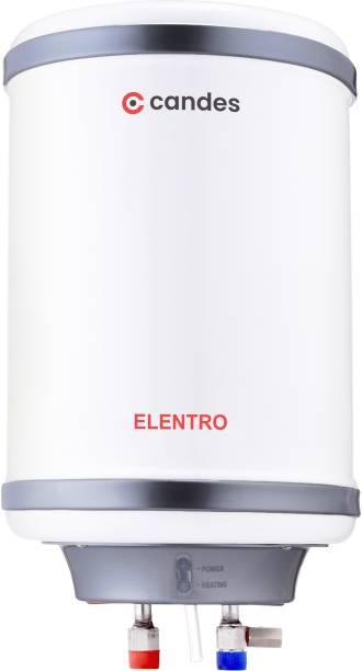 Candes 10 L Storage Water Geyser (Elentro, White)