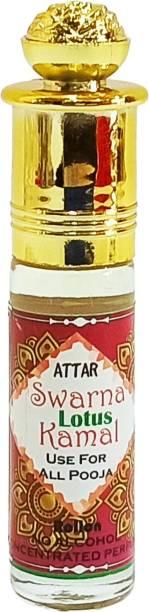 INDRA SUGANDH Attar Swarna kamal,Lotus ~इत्र कमल~ Original Attar Kamal Pure Lotus Perfume Attar For Long Lasting Floral Attar