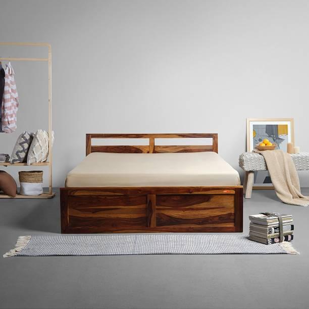 Sleepyhead Solid Wood Queen Box Bed