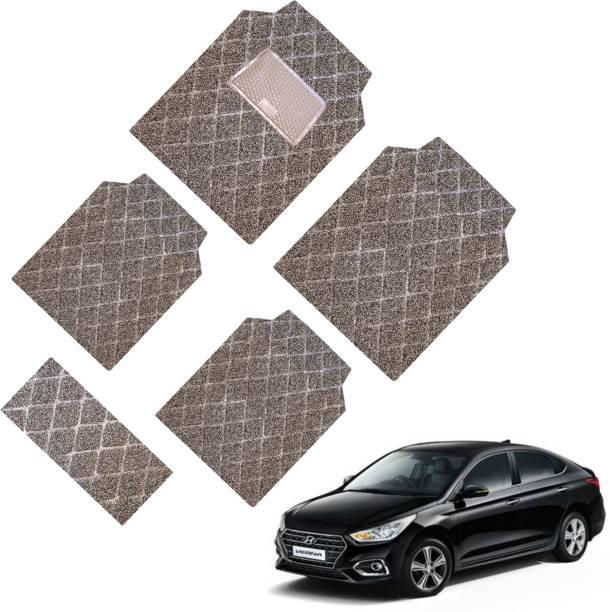 GoMechanic PVC Standard Mat For  Hyundai Verna