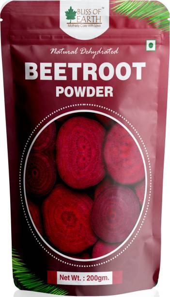 Bliss of Earth 200gm Beetroot Powder Natural Dehydrated