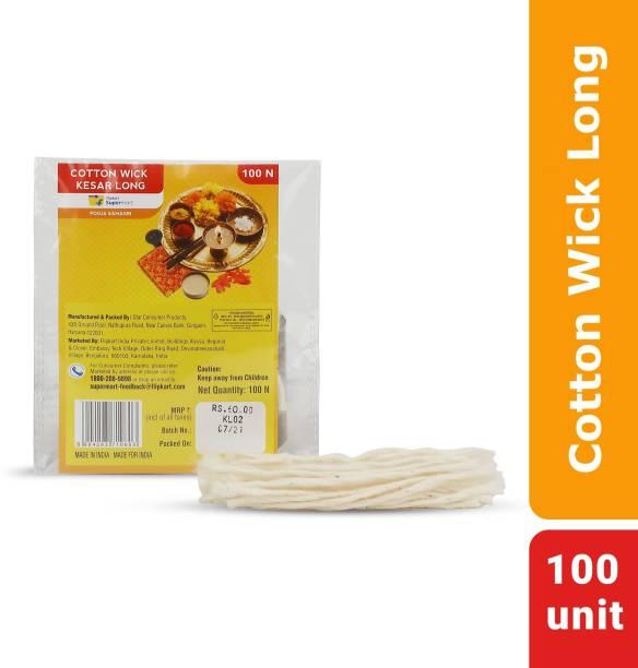 Flipkart Supermart Kesar Long Cotton Wick