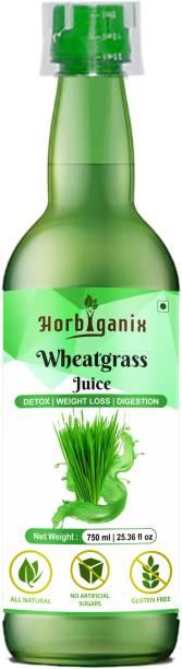 Horbiganix Wheat grass Juice   Pure & Natural   Immunity Booster   Detox   Weight Loss   Digestion   Men & Women