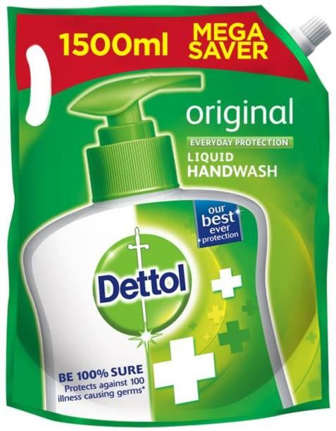 Dettol Refill Original Hand Wash Pouch