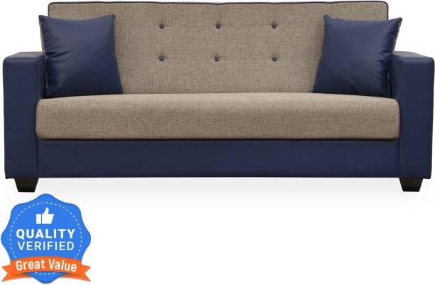 Flipkart Perfect Homes Vegas Fabric 3 Seater  Sofa