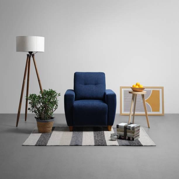Sleepyhead Yolo Fabric 1 Seater  Sofa