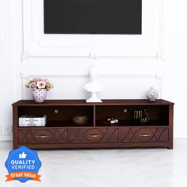 House of Pataudi Amira Solid Wood TV Entertainment Unit