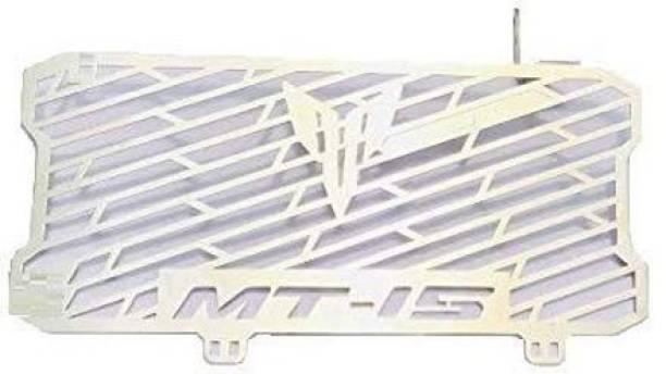 CHOKKAS Stainless Steel Radiator Grill For MT15 Black-Vermillion Radiator Guard (Yamaha) Bike Radiator Guard