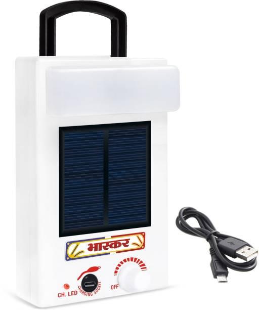 Eye Bhaskar 32 LED Solar T Bulb With Charge Rechargeable Lantern Emergency Light