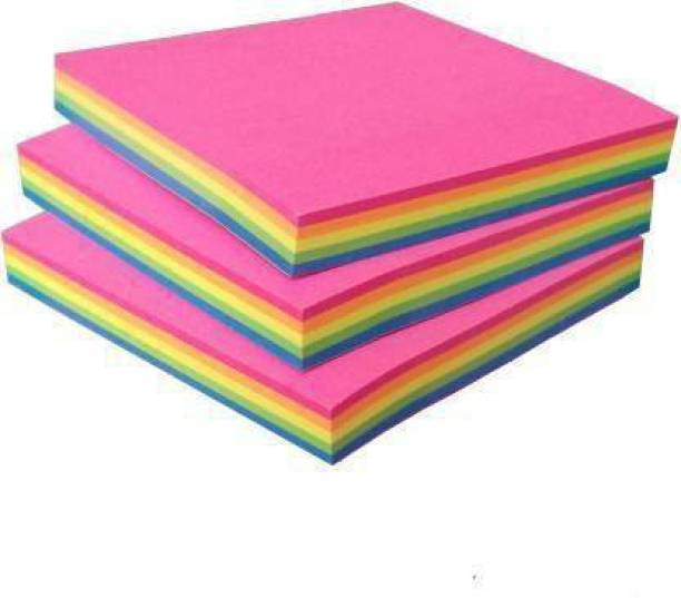 NeoTask Post Its 80 Sheets Sticky Notes, 5 Colors