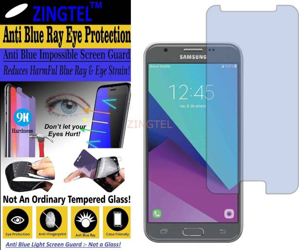 ZINGTEL Impossible Screen Guard for SAMSUNG GALAXY J3 EMERGE (Impossible UV AntiBlue Light)