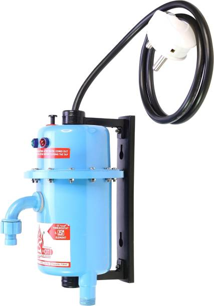 Mr.SHOT 1 L Instant Water Geyser (Essential Manual Reset, Blue)