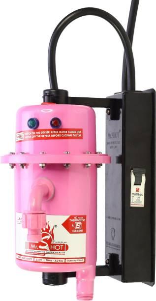 Mr.SHOT 1 L Instant Water Geyser (Mr.SHOT MAX, Pink)